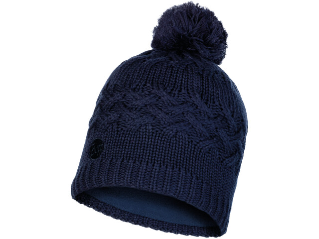 Buff Lifestyle Knitted and Polar Fleece Casquette, savva night blue